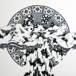 Pure Mandala Print 2013